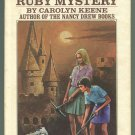 Dana Girls 12 THE WINKING RUBY MYSTERY Carolyn Keene First Printing 2nd Series HC