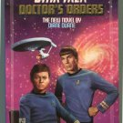Star Trek 50 DOCTOR'S ORDERS Diane Duane First Printing
