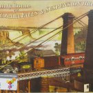 D Toys NIAGRA FALLS AND SUSPENSION BRIDGE 1000 pc New Jigsaw Puzzle Vintage Poster