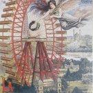 D Toys LA GRANDE ROUE DE PARIS 1000 pc Jigsaw Puzzle Vintage Poster Ferris Wheel