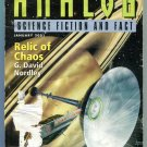 ANALOG Science Fiction Magazine 2001 4 Issue Lot