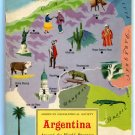 American Geographical Society ARGENTINA 1960 Around the World Program Very Good