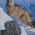 Castorland AUSTERE ASCENT 1000 pc Jigsaw Puzzle Snow Cat Lynx