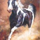 Castorland SPIRIT UNBROKEN 1000 pc Jigsaw Puzzle Galloping Piebald Horse New