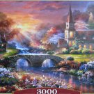 Castorland PEACEFUL REFLECTIONS 3000 pc Jigsaw Puzzle Landscape Church New