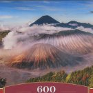 Castorland BROMO VOLCANO INDOENESIA 600 pc Panorama Jigsaw Puzzle Landscape New