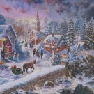 Castorland HOLIDAY AT SEASIDE 600 pc Panorama Jigsaw Puzzle Christmas Nostalgia New
