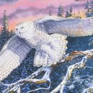 Castorland WHISPER ON THE WIND 1500 pc Jigsaw Puzzle Fallen Willow Snowy Owl