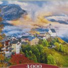 Castorland COLLE SANTA LUCIA ITALY 4000 pc Jigsaw Puzzle Landscape Alps Autumn