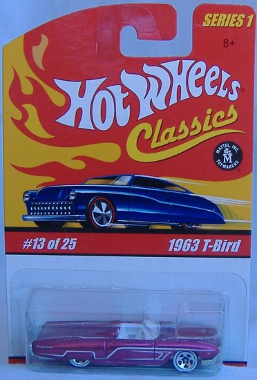 Hot Wheels 1963 Thunder Bird T-Bird Classics Collection 1 #13 of 25 Purple