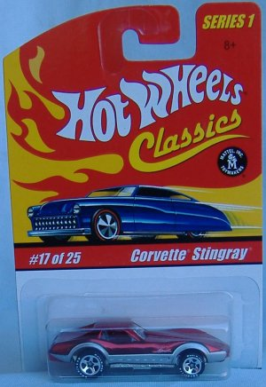 Hot Wheels Classics Collection 1 Corvette Stingray Special Paint and Tampos