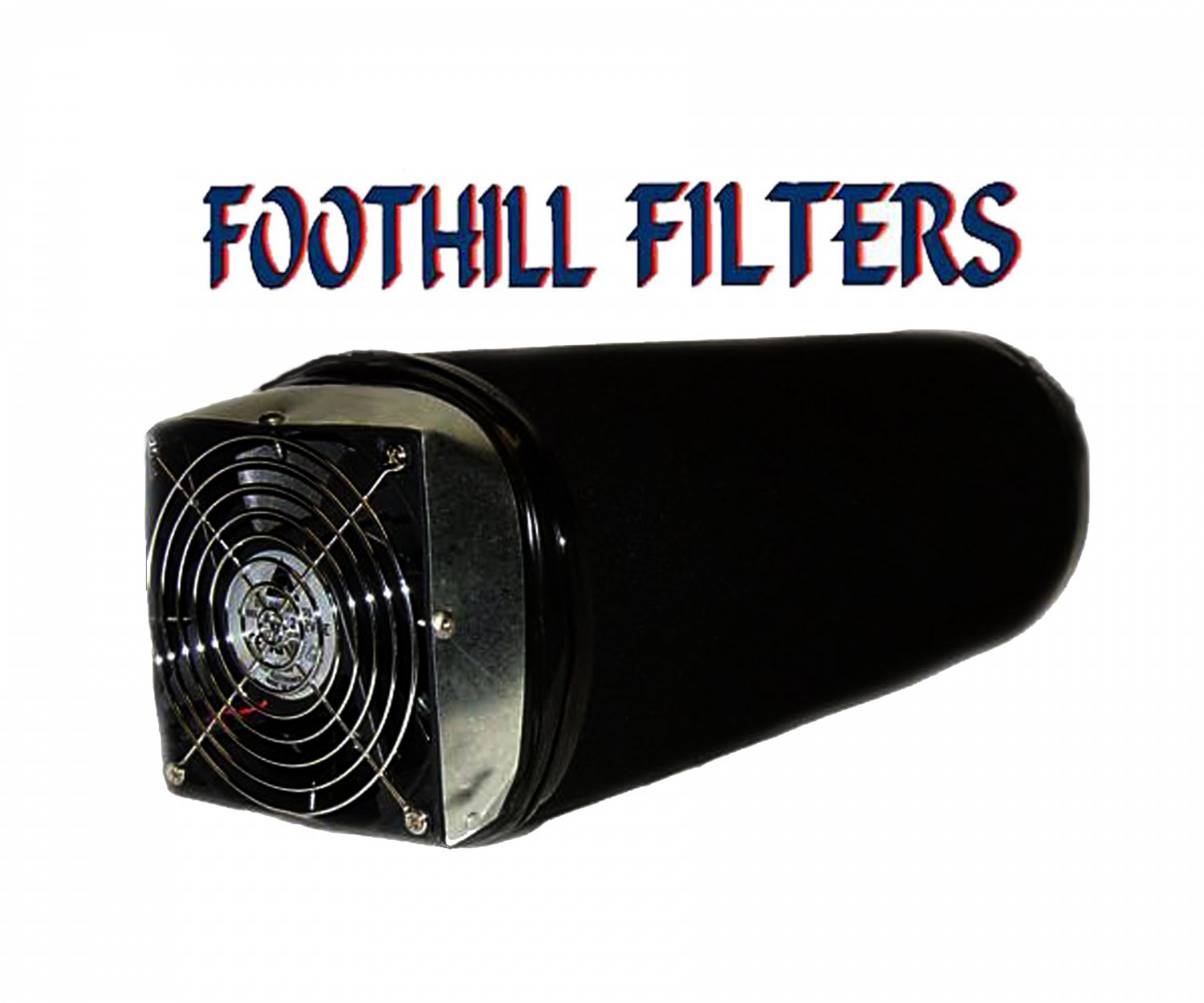 6 X 14 ACTIVATED CARBON ODOR SCRUBBER WITH 130 CFM FAN **REFILLABLE**
