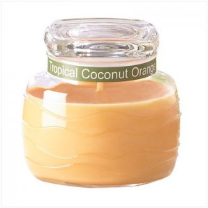 Orange & Coconut Jar Candle