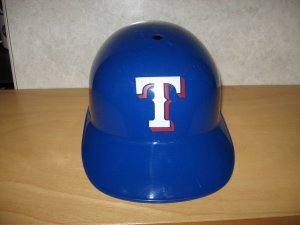 Texas Rangers Full Size Souvenir MLB Baseball Batting Helmet
