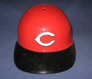 Red and Black Cincinnati Reds Full Size Souvenir MLB Baseball Batting Helmet