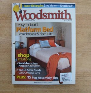 Platform Bed Woodsmith Magazine 2005 Vol. 27 Issue 160