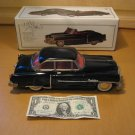 1950 Style Black Cadillac 10 Inch Friction Toy Metal Luxe Car with Box