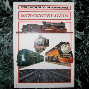 20th Century Steam 96 page Train Steam Engine Locomotive Hardback Photo Book by Derek Avery