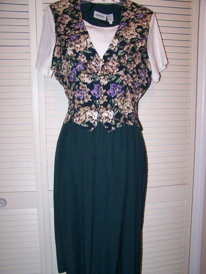 Vested dress