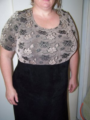 """Plus size """"Hot to Trot"""" dress"""