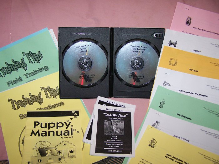 """Teach Me Please"" Dog training series"