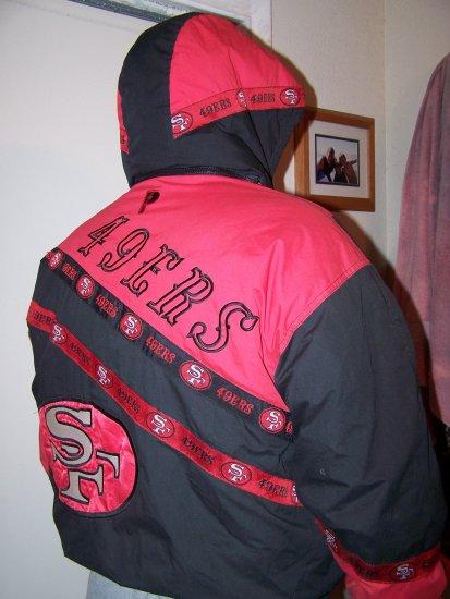 Retro 49er's coat