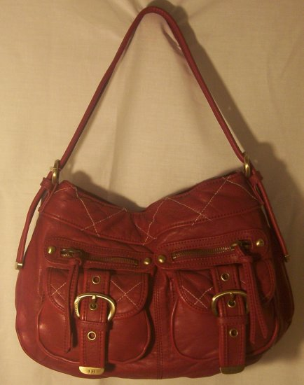 Tommy Hilfiger Ladies Burgundy Handbag