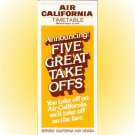 Air California system timetable 3/15/79 ($)