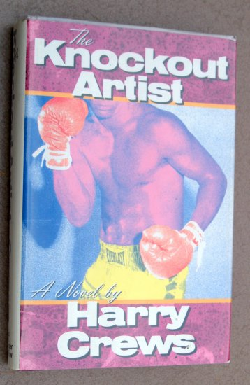 Harry Crews First Ed Knockout Artist Boxing