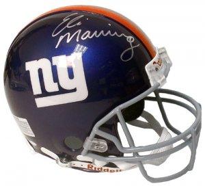 Eli Manning Hand Signed NY Giants Helmet