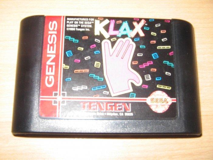 Sega Genesis Klax Game