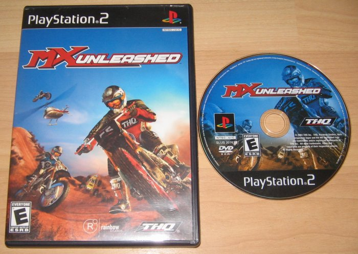 PS2 Playstation 2 MX Unleashed