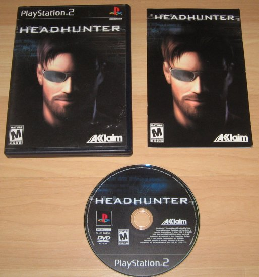 PS2 Playstation 2 Headhunter Game