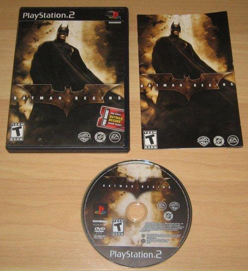 PS2 Playstation 2 Batman Begins