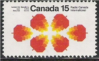 Canada # 541 Radio Canada International