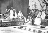 M.K.Gandhi with Rabindranath Tagore (only email delivery) - 1024x708 pixels