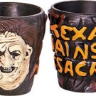 2 New Leatherface Shot Glasses Texas Chainsaw Massacre