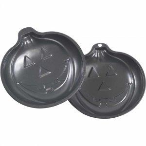 2 New Pumpkin Halloween Thanksgiving Cake Pans