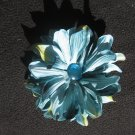 Premium Blue flower with blue gem center