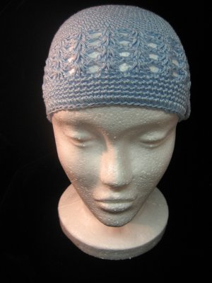 Light Blue Crochet Hat