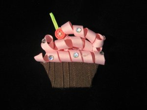 NEW! Cupcake Clippie