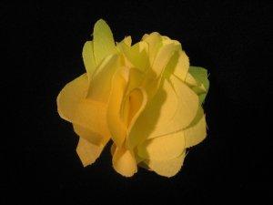 NEW! Yellow Handmade Flower