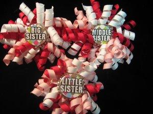 Big, Little, and Middle Sister Bottle Cap Korker Set