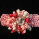 Little Sister Mini Bottle Cap Korker w/ Crochet headband