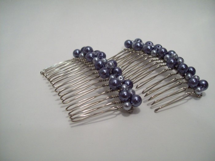 Pearl Hair combs (set)
