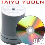 Taiyo Yuden 8X DVD-R (100-pack)