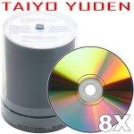 Taiyo Yuden 8X DVD-R (200-pack)