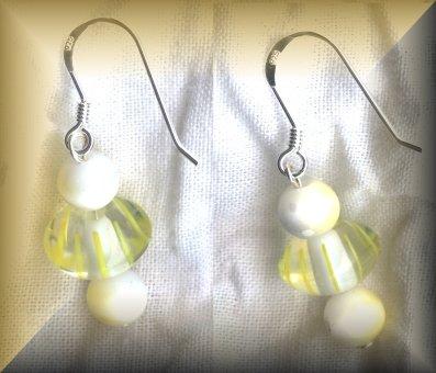 Lemon Drops - Sterling Silver (ENV 103 & 104)