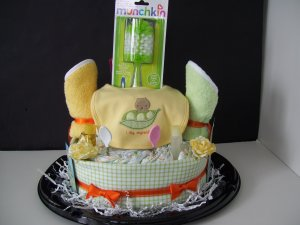 Diaper Cake Gymboree Jungle Gym Collection