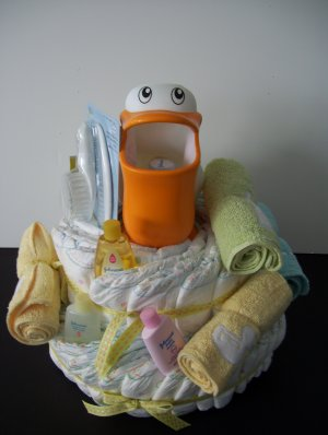 Diaper Cake Gymboree Bath